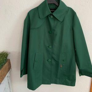 Green London Fog Jacket size medium